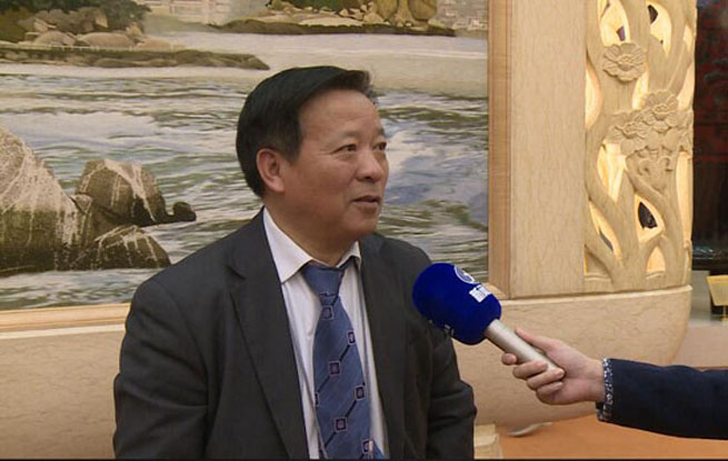 欧洲华文电视台台长林朱庆情系家乡关注家乡建设