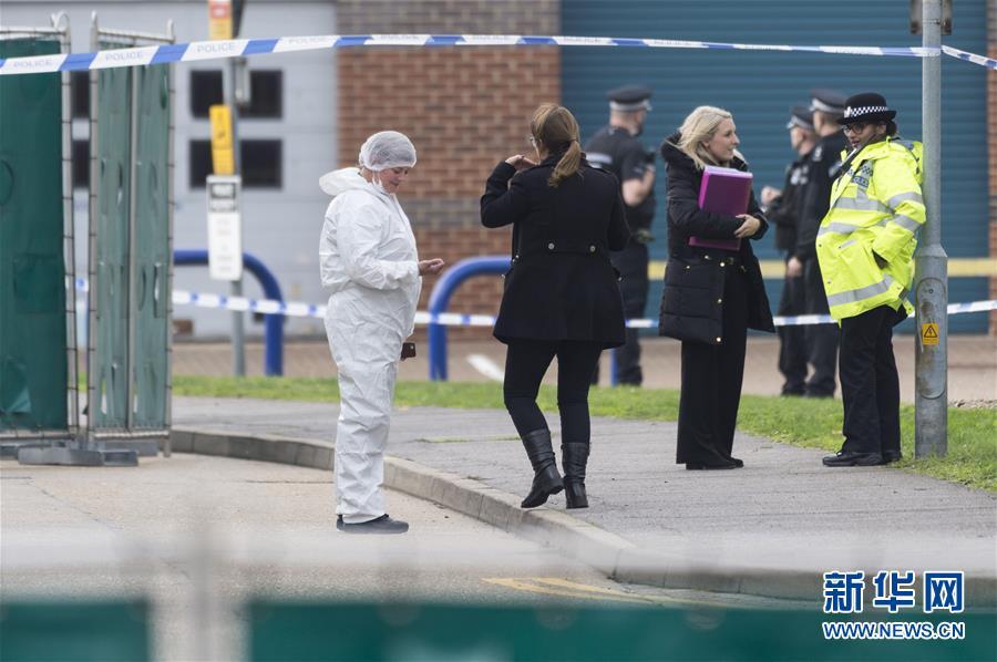 (国际)(1)英国警方在货车内发现39具尸体