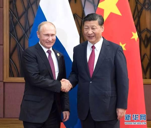 中俄两国元首互致新年贺电