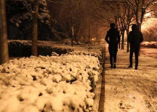 北京迎来2020首场雪