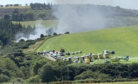 苏格兰首席大臣称列车脱轨事故极其严重 致多人重伤